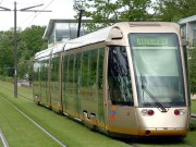 A tram in d orleans