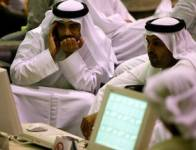 Investors at Dubai Financial Market